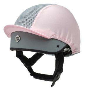 This Esme pink ventilated hat silk